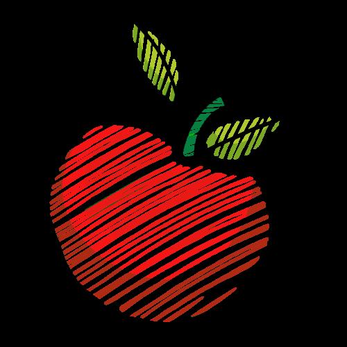 pomme rouge savoureuse des vergers d'apremont